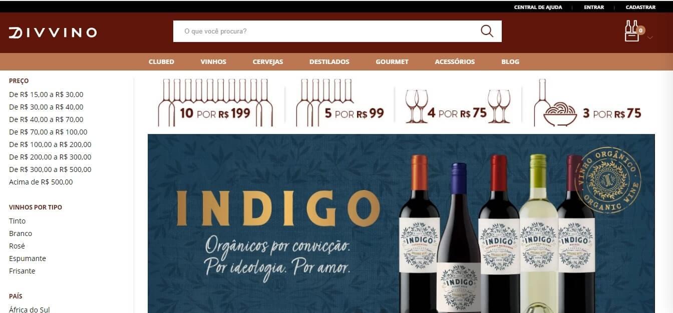 como comprar vinhos pela internet site