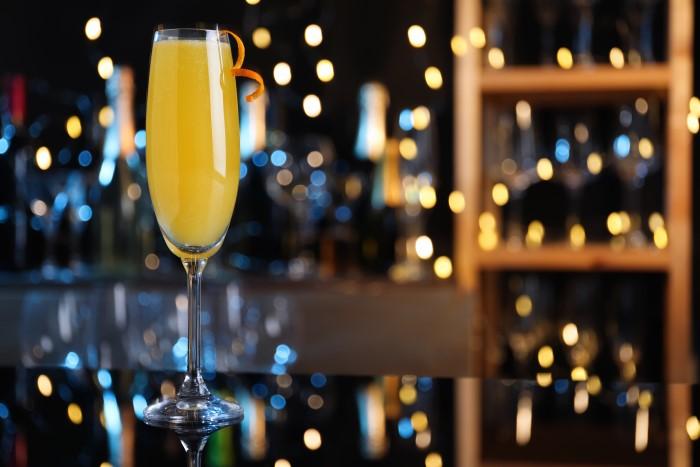 Drink com vinho Mimosa