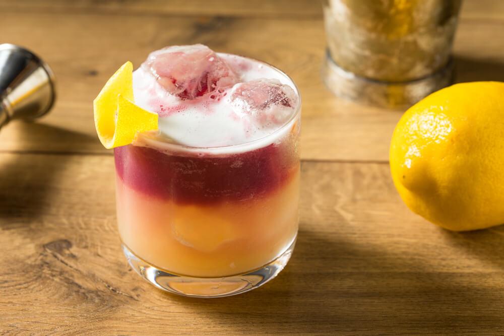 drinks com vinho new york sour