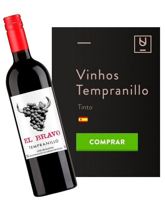 vinhos para o outono Tempranillo