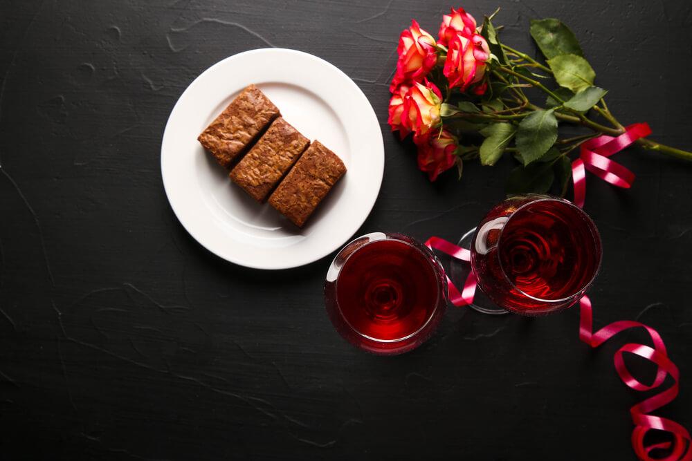 receitas com vinho brownie com vinho do porto