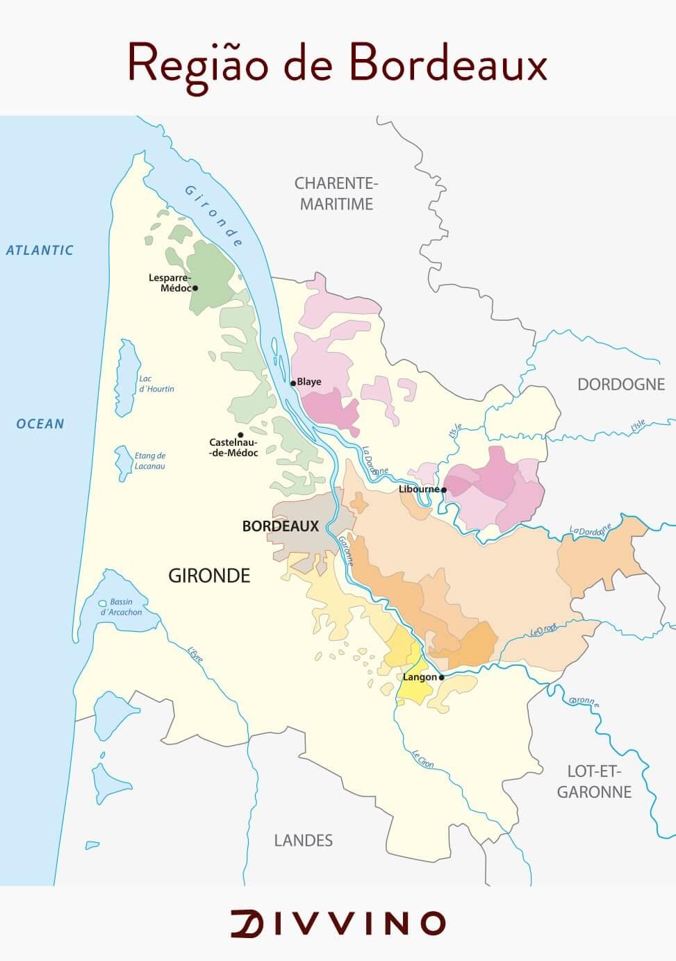 vinho merlot francês região