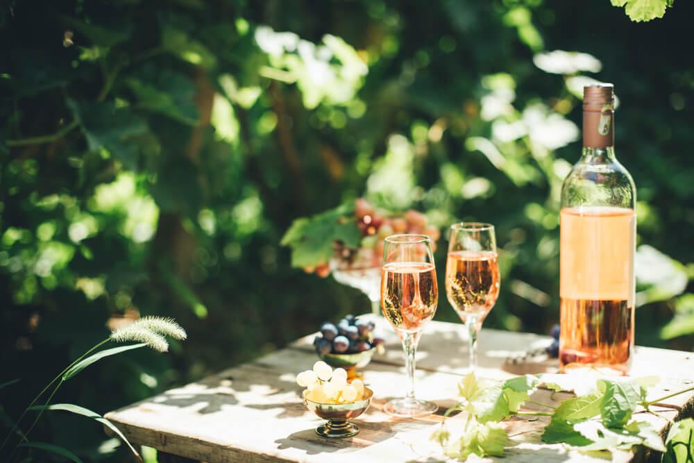 Como é Feito Vinho Rosé