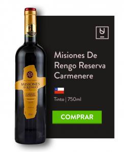 Vinho Carménère Misiones de Rengo