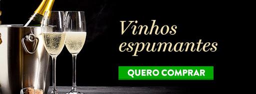 Banner vinhos espumantes no Divvino