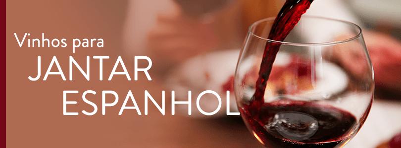 Banner vinhos para Jantar Espanhol