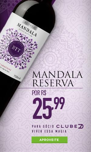 Banner Divvino vinhos mandala